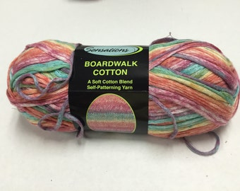 Sensations Boardwalk Cotton Yarn - Boardwalk Multi