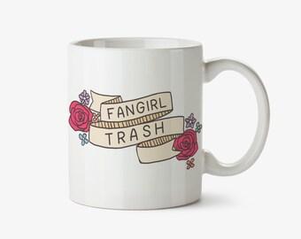 Fangirl Trash Mug