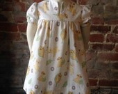 Lion King Dress Size 2 Recycled