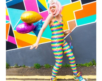 Rainbow Catsuit
