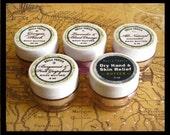 Sample Size Natural Body Butter for Dry Skin, Pick Your Scent Body Butter for Dry Cracked Skin, For Women, For Men, Skin Care Moisturizer