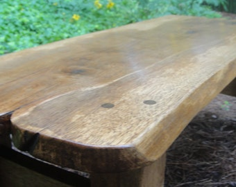 Table Pecan with Live Edges
