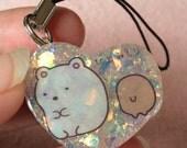 Sparkly Glittery Resin Kawaii charm