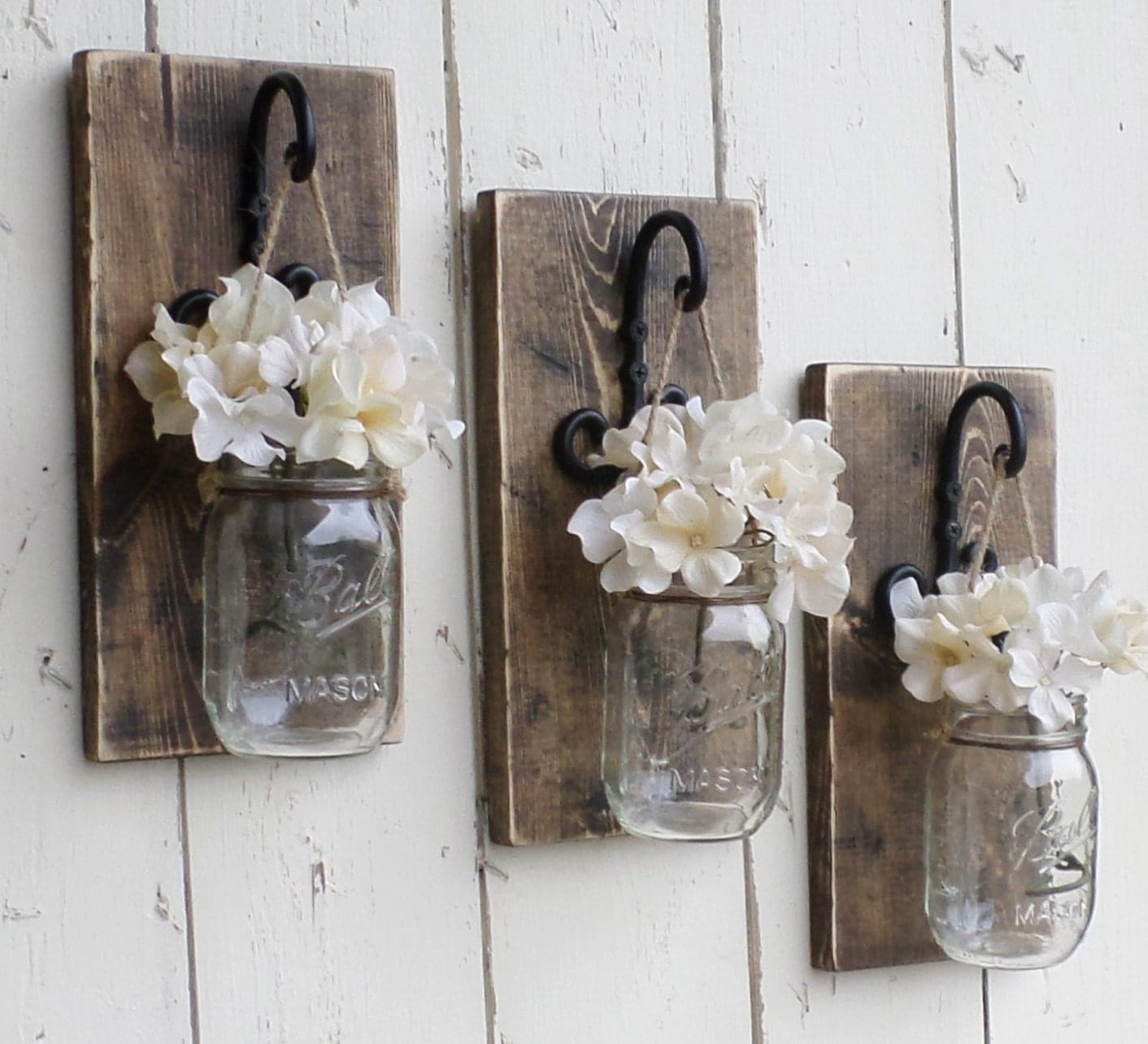 Homemade Rustic Wall Decor : New rustic farmhouse wood wall decor by