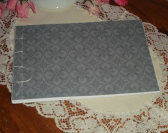 Guest Book Album - Silver - Wedding - Anniversary - Birthday