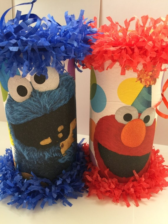 Elmo Cookie Monster Mini Pinata Party Favor