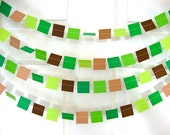 Square party garland 6ft. length