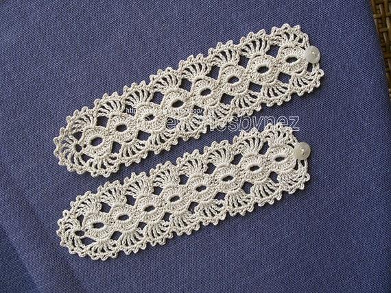 nezjewelry - PDF Tutorial Crochet Pattern, Crochet Cuff Bracelet ...
