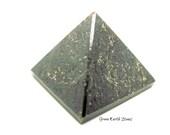 ONE Garnet Pyramid,  Energy Stone, Magic, Reiki, Wicca, Premium, Artisan, Wire Wrap, Jewelry, Egypt