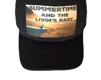 Kids trucker hat - kids snapback hat - kids hat - infant hat - trucker hat - summer hat