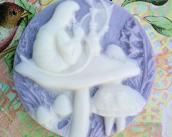 Alice In Wonderland Caterpillar Cameo Soap