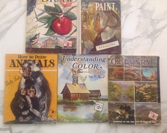 How To Draw and Paint Books by Walter T Foster