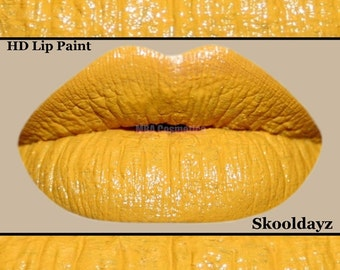 Yellow HD Lip Paint-Skooldayz