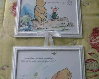 Classic Winnie the Pooh Framed Prints in 8x10