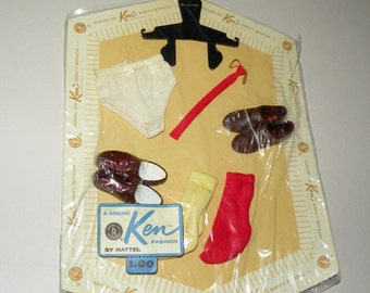 1960s Ken Doll MOC Accessories Pak
