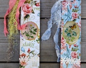 Pair of Floral Bookmarks