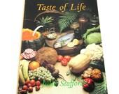 Taste Of Life, Pritikin Diet Recipes By Julie Stafford, Vintage Cookbook
