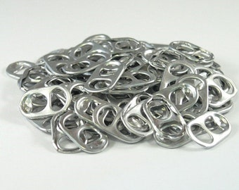 1000 pop tabs shipped from Europe, soda tabs, can tabs, ring pulls, pull tabs, soda can tabs