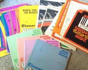1969 Thomas Organ Song Books- 80+