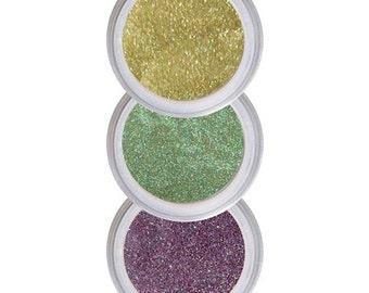 Eyeshadows for Green Eyes, Coordinated Colors, Brighten Green Eyes, Eye Shadow, Eyeshadow Kit, Pure Natural Makeup, Crease Free Color