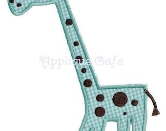 206 Giraffe Machine Embroidery Applique Design