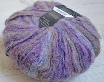 Knitting  yarn, Destash yarn,  purple yarn, Aran weight, Y198