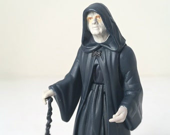 STAR WARS Figure Emperor Palpatine with Cane - 1990's Star Wars Toy in Original, Unopened Pkg. - Kenner Star Wars Action Figure, ROTJ
