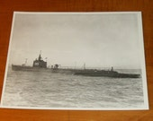 SALE WWII Submarine Photographs Lot of 3