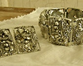The MOST Fabulous Sarah Coventry Set Ever! Bracelet And Earrings!/SALE!