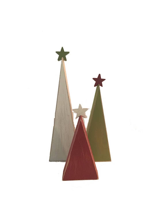 Popular Wooden Log Christmas Tree By Little Red Heart  Notonthehighstreetcom