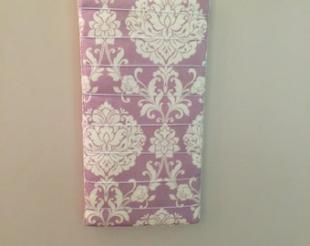Purple Earring Organizer, Earring display