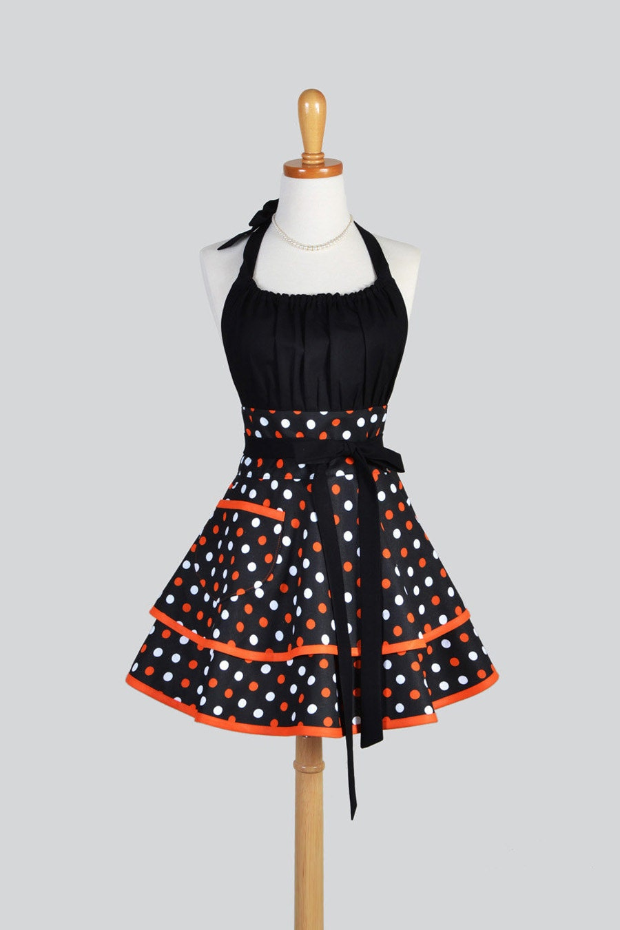 flirty chic womens aprons full kitchen cooking womans apron. Black Bedroom Furniture Sets. Home Design Ideas