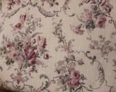 Yuwa Jacquard Floral Lavender Mauve Roses 046212F