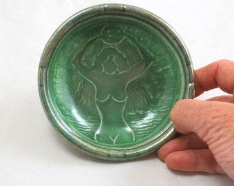 Gaia Offering Bowl Handmade Raku pottery