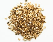 Yellow Solder Chips for Soldering 14kt Gold Filled and Brass - 1/8 ounce