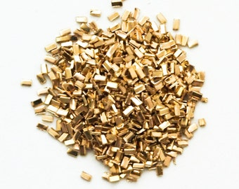 Yellow Silver Solder Chips for Soldering 14kt Gold Filled and Brass - 1/8 ounce or 1/4 ounce