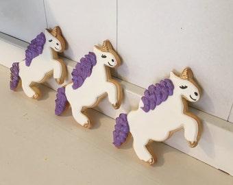 Unicorn Horse Fairytale Cookies - 1 dozen