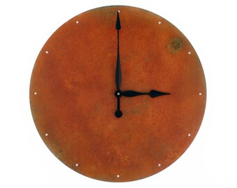 Circle, Extra Large Wall Clock, Rustic Wall Clock, Unique Wall Clock, Modern Home Decor, Steampunk Metal Art, Industrial, Huge, Big, Giant