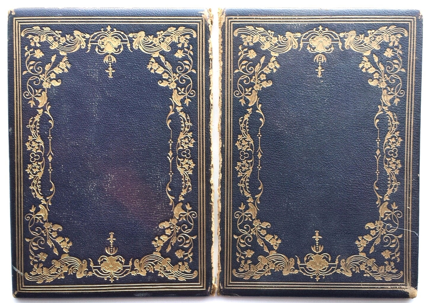 Vintage Leather Book Cover : Fancy antique leather book covers