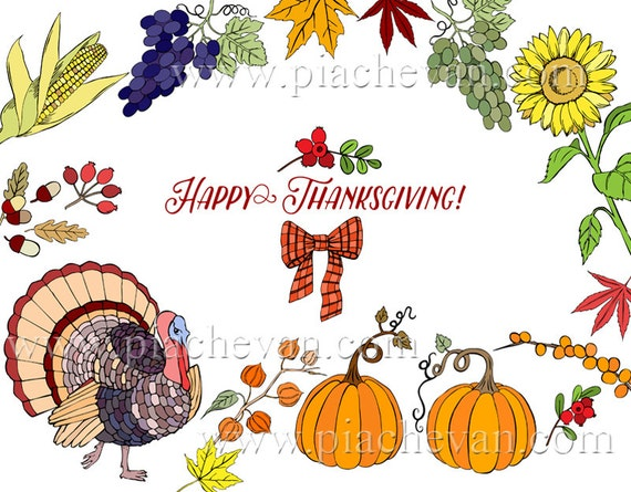 Decorating Ideas > Digital Clipart With Thanksgiving Decorations Clip Art ~ 065415_Thanksgiving Decorations Clipart