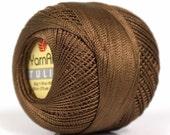 Brown Yarn Art Tulip Size 10 Microfiber Thread 17307 50 gr 273 yds Needlepoint, Cross Stitch, Crochet