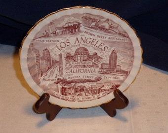 Vintage Los Angeles Plate