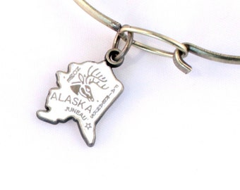 Alaska Love Charm Bracelet or Necklace