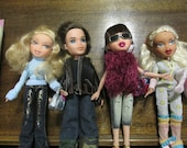Sale!!! Bratz Dolls x 4. All fully dressed and with shoes. Great for B-day, Christmas or ? Gift