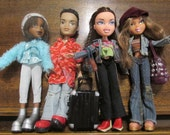 SALE!!!!! Bratz Dolls x 4. All fully dressed and with shoes. Great for B-day, Christmas or ? Gift