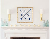 Arrow LOVE Print