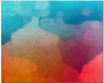 Abstract Wall Decor, Fine Art Print