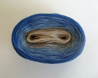 WHOM  Color Changing Cotton yarn  480 yards/100 gr  Fingering Weight
