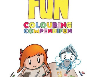 Dungeon Fun Colouring Compendifun