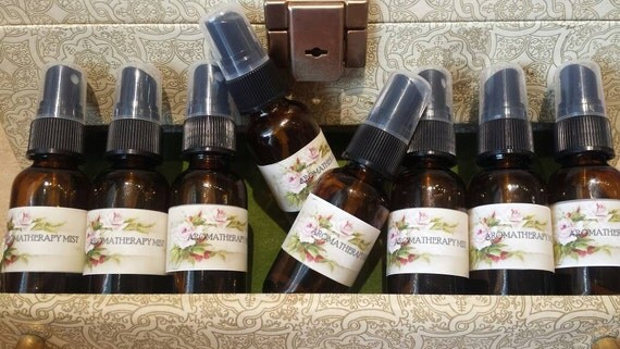 Terra Earth Aromatherapy Mist. Patchouli, Amber, Vetiver and Ginger.